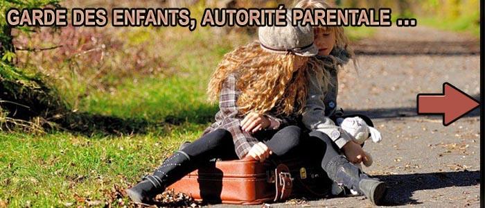 garde des enfants - modes de garde - garde alternée - droit de visite - autorité parentale - divorce - guide divorce - divise - divise.fr