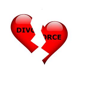 Divorce coeur brisé